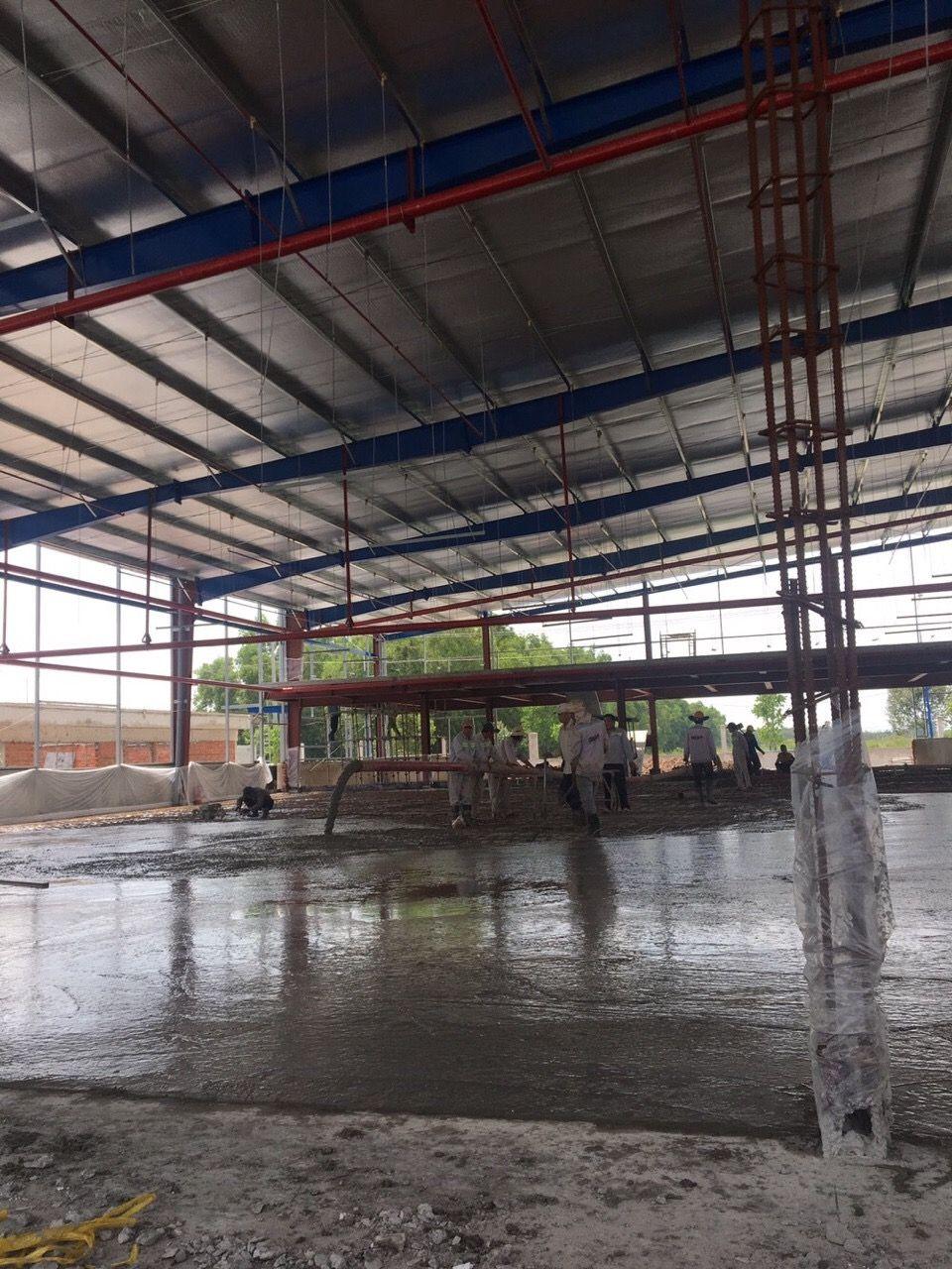 Thiết kế thi công nhà xưởng Thuận An Bình Dương