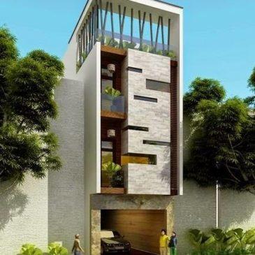 Mẫu nhà phố đẹp 2018 – Công ty xây dựng Sao Vàng