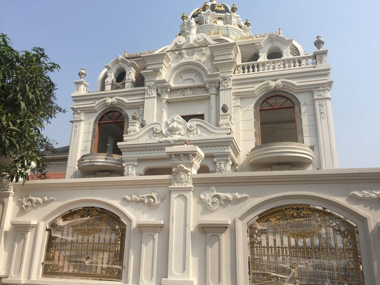Biệt thự cổ điển kiến trúc Pháp Dĩ An