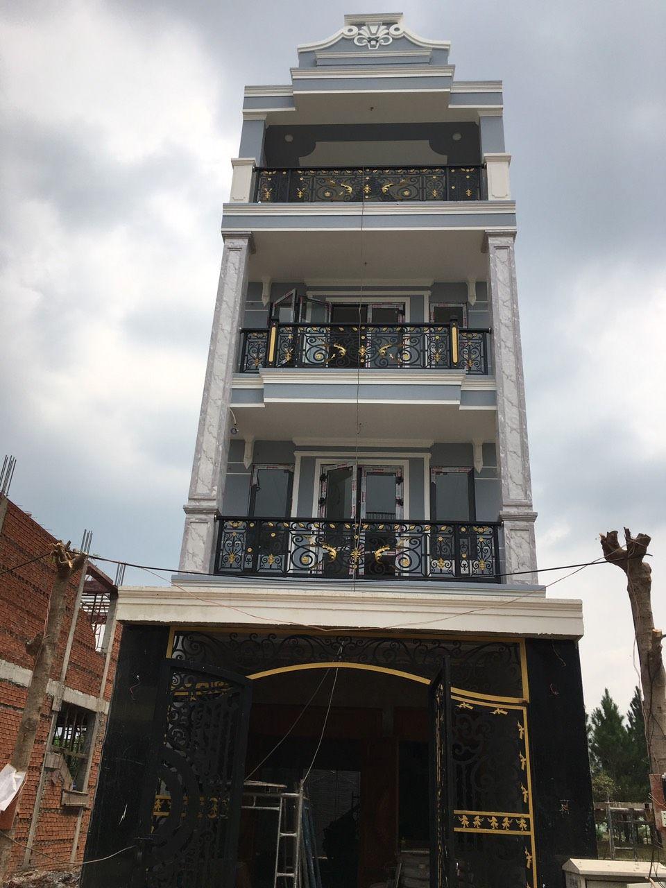 Biệt thự phố tân cổ điển đẹp Biên Hòa