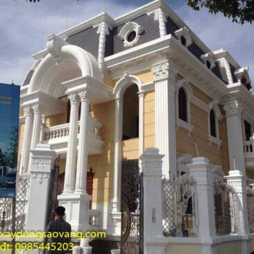 Biệt thự kiến trúc Pháp Hiệp Thành Bình Dương