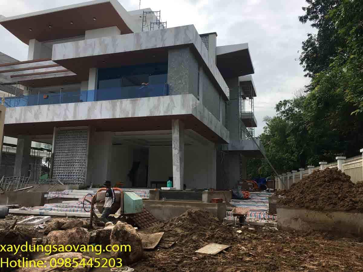 nhà thầu xây dựng biệt thự tại Bình Dương chuyên nghiệp uy tín