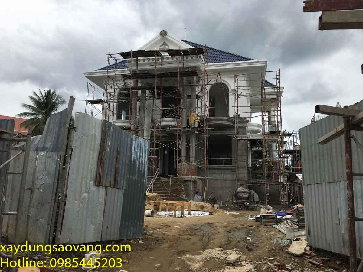 thầu xây dựng biệt thự tại Bình Dương