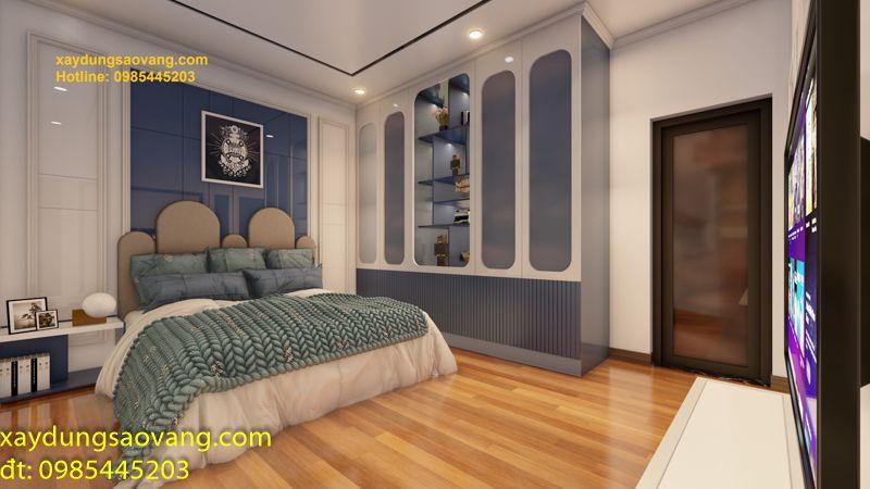 Biệt thự 3 tầng phong cách indochine Bình Dương