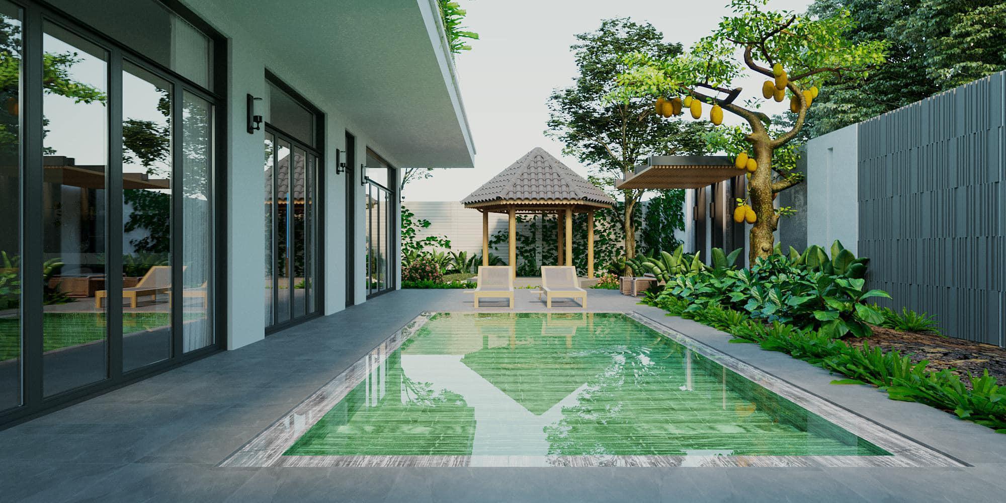 Biệt thự vườn nghỉ dưỡng Bình Dương